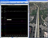 Google Earth GPS and Live Data Sensor Playback